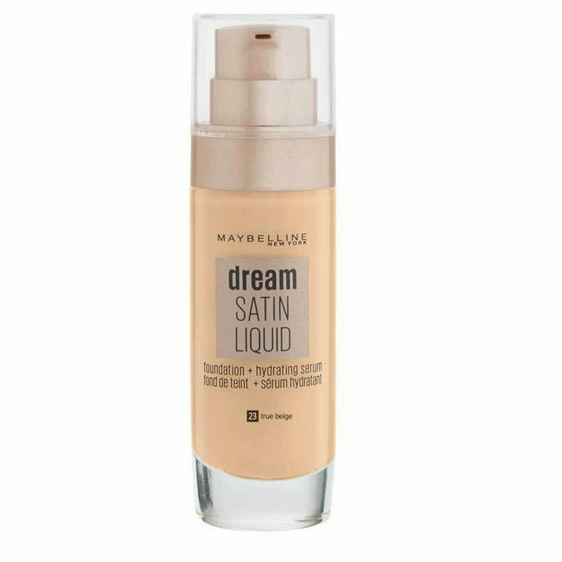 Maybelline Dream Satin Liquid Foundation Serum 23 True Beige
