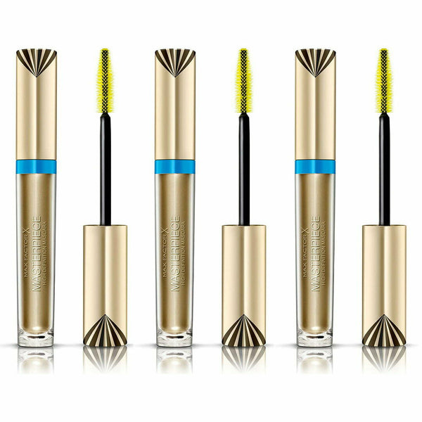3x Max Factor X Masterpiece Mascara Waterproof BLACK BROWN