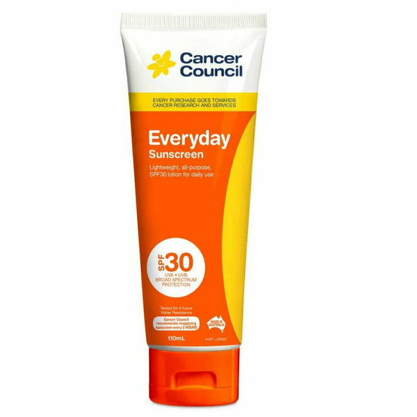 Cancer Council Everyday Sunscreen SPF 30 Tube 110mL
