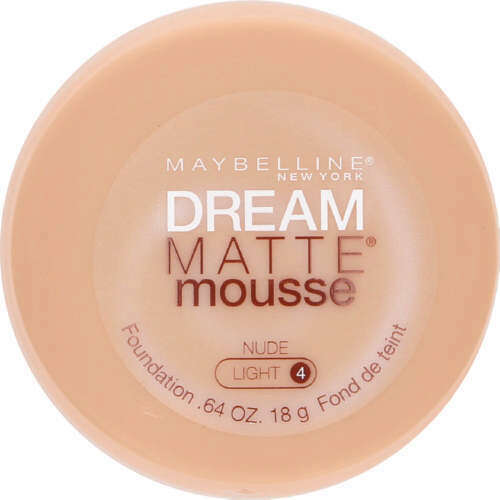 Maybelline Dream Matte Mousse NUDE LIGHT 4 - Foundation