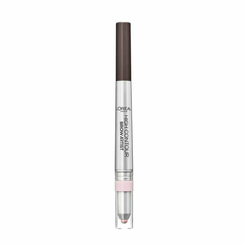 107 COOL BRUNETTE LOreal High Contour Brow Artist Mechanical Pencil & Highlighter