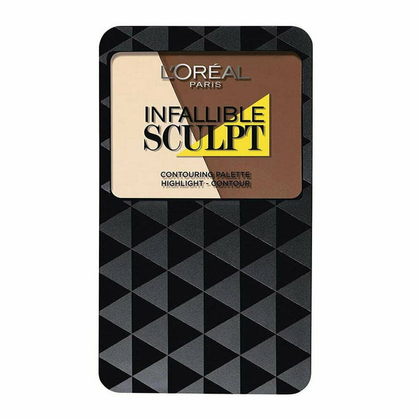 LOreal Infallible Sculpt Contouring Palette 03 MEDIUM DARK - Highlight Contour