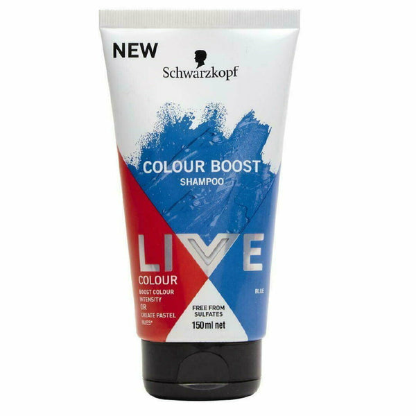 Schwarzkopf  LIVE Colour Boost Shampoo Blue 150mL