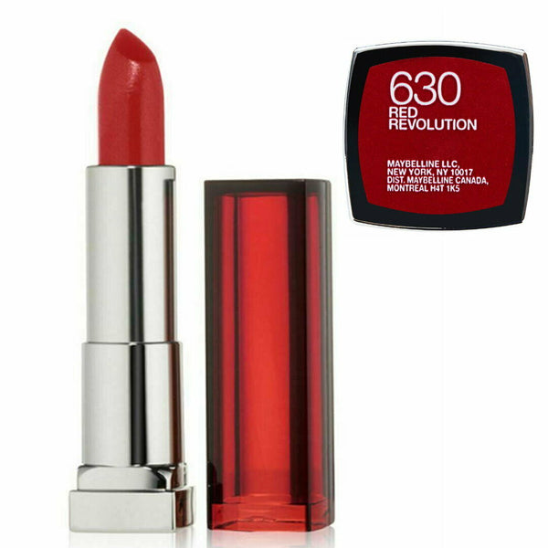 Maybelline Color Sensational Lipcolour Lipstick - 630 Red Revolution