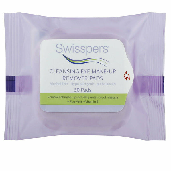 Swisspers Cleansing Eye Make Up Remover 30 Pads
