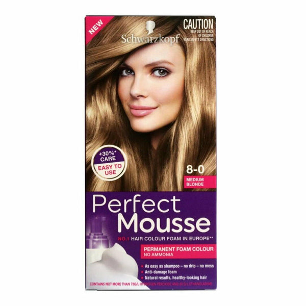 Schwarzkopf Perfect Mousse 8-0 Medium Blonde