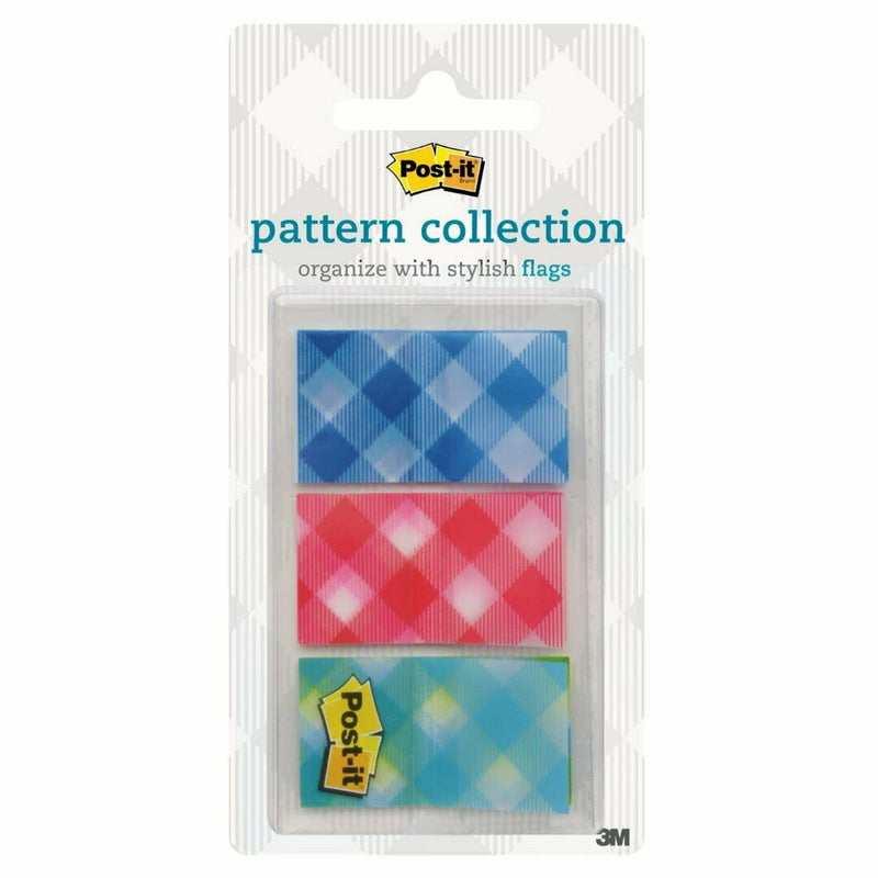 Post-it 3M Flags Pattern Collection 23.8 mm x 43.2mm