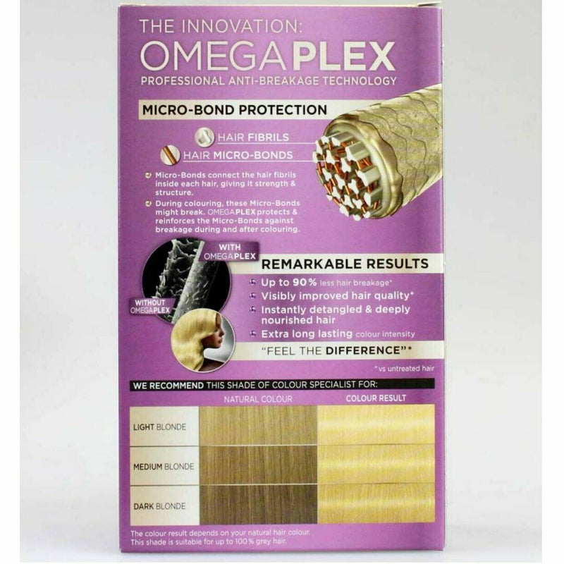 Schwarzkopf Colour Specialist Supreme Creme Omegaplex Hair - 12.0 Diamond Blonde