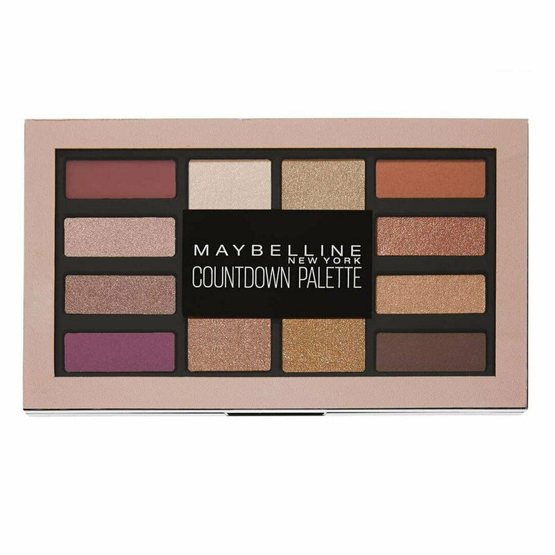 Maybelline Countdown Eyeshadow Palette 12g 01 HOLIDAY