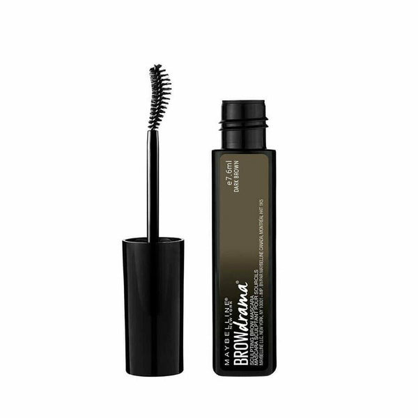 Maybelline Brow Drama Sculpting Brow Mascara DARK BROWN 7.6ml