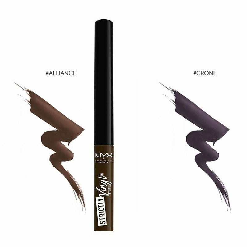 3x NYX MAKEUP Strictly Vinyl Eyeliner SVEL 06 Alliance