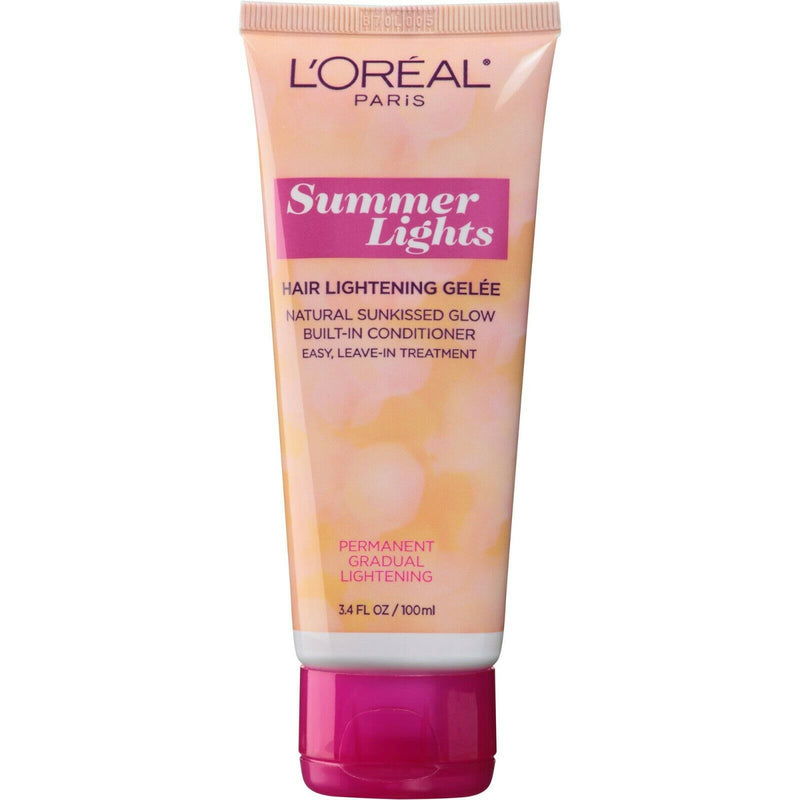6x LOreal Sunkiss Jelly Permanent Progressive Lightening 02 Dark Blonde to Light