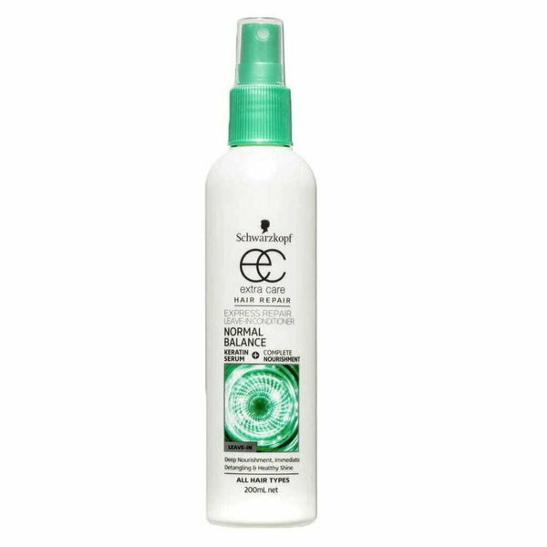 Schwarzkopf Extra Care Leave In Conditioner Normal Balance Hair Repair