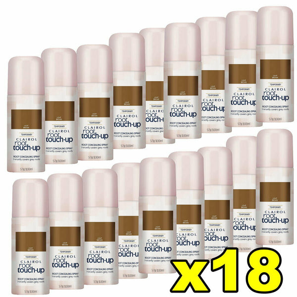 18x Clairol Root Touch Up Root Concealing Spray - Light Brown