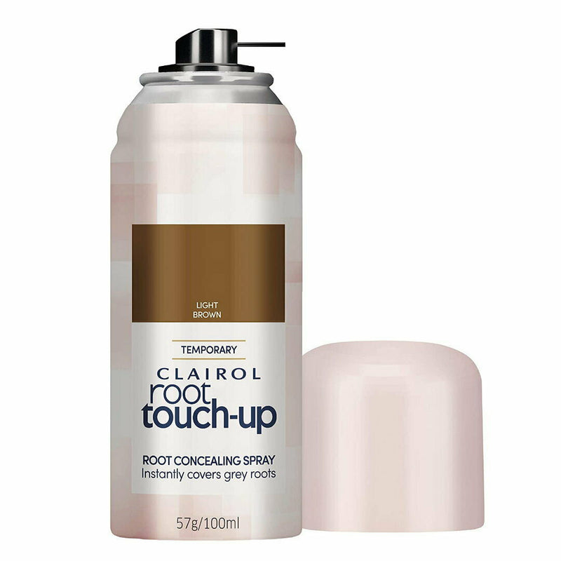 Clairol Root Touch Up, Root Concealing Spray, Light Brown
