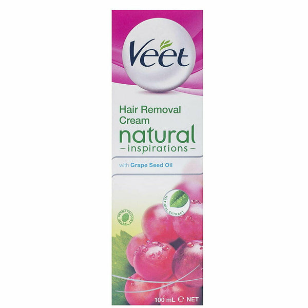 Veet Hair Removal Cream with Grape Seed Oil 100mL