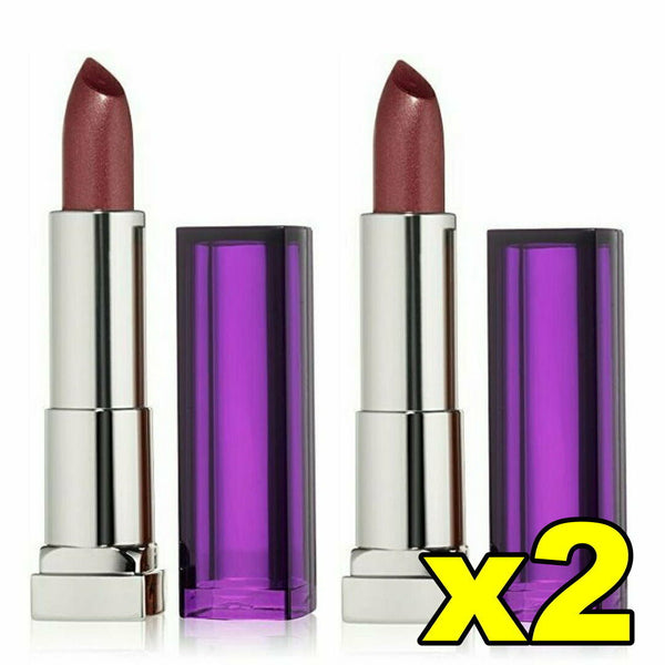 2x Maybelline Color Sensational Lipcolour Lipstick - 425 Plum Paradise