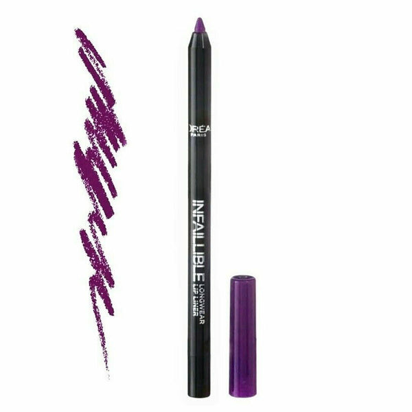 LOreal Paris Infallible Lip Liner 207 Wuthering Purple