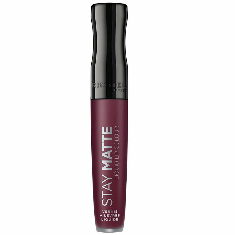 Rimmel Stay Matte Liquid Lip Colour Lipstick 800 Midnight