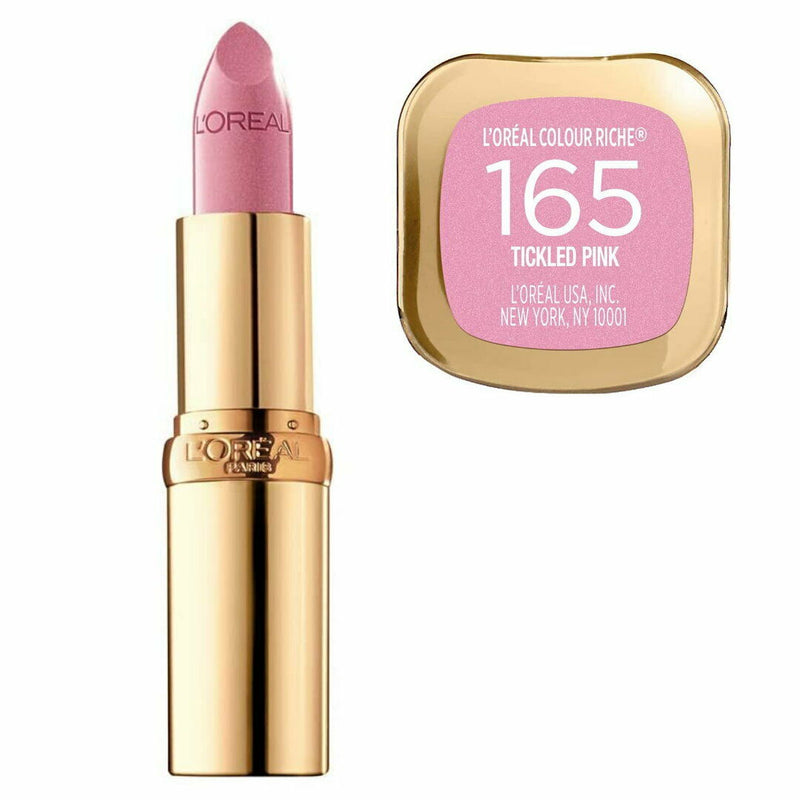 LOreal Colour Riche Satin Lipstick - 165 Tickled Pink