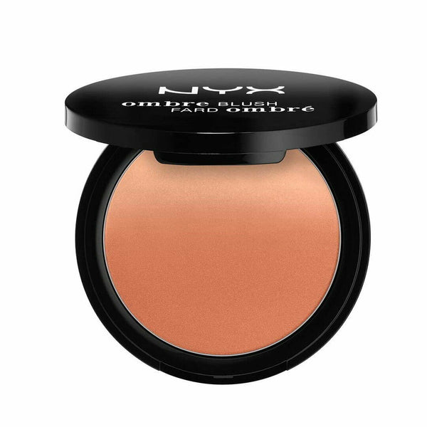 NYX Ombre Blush 06 NUDE TO ME Compact Blusher Makeup