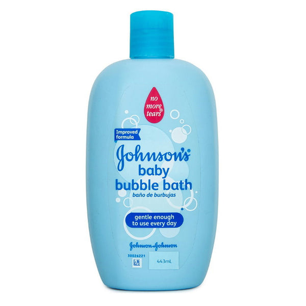 Johnsons Baby Bubble Bath No More Tears 443ml 100% soap free
