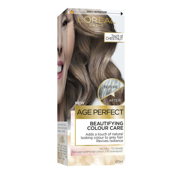 LOreal Age Perfect Beautifying Hair Colour Care - Touch Of Chestnut