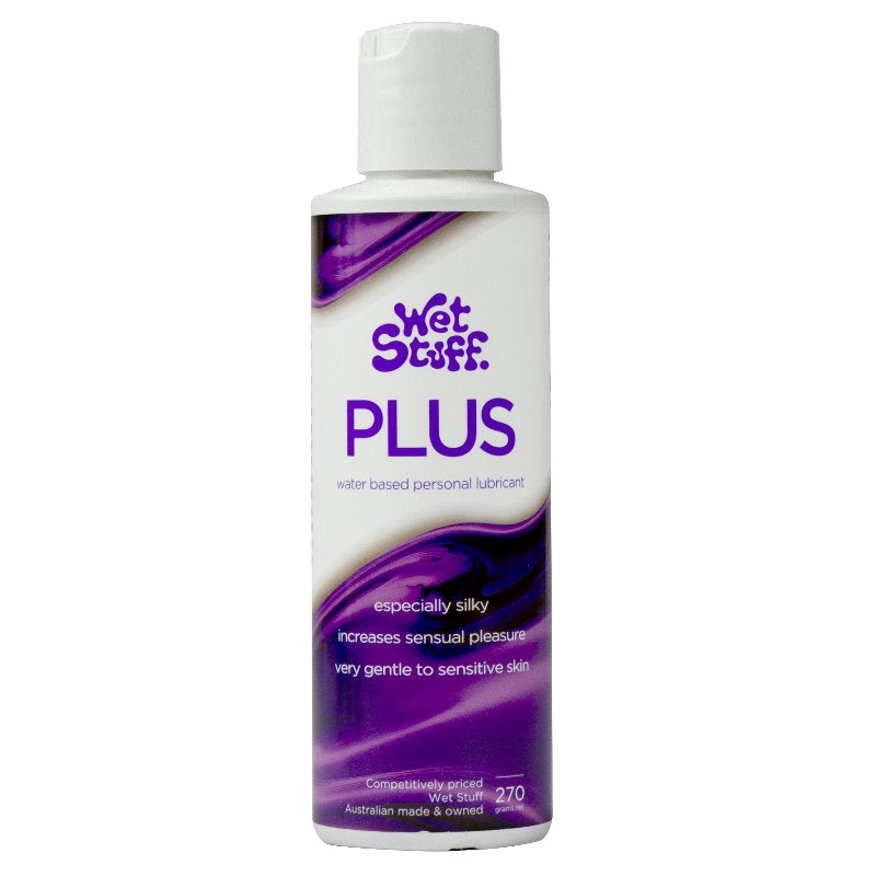 Wet Stuff Plus Water Based Personal Lubricant 270g