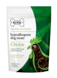 80% Freshly Prepared Chicken Hypoallergenic Dog Treats