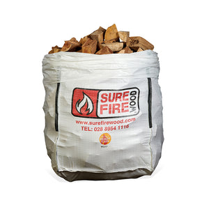 Kiln Dried Hardwood Jumbo Bag (from £96.25/bag - 1, 24 or 48 Units)