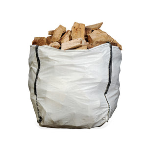 Seasoned Hardwood Dumpy Bag (from £66.25/bag - 24 or 48 Units)