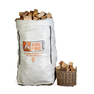 Kiln Dried Hardwood Super Jumbo Bag (£185/bag)