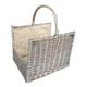 Antique Wash Open End Basket