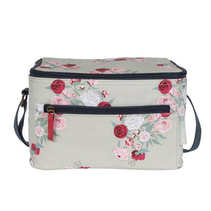 Peony Oilcloth Lunch Bag