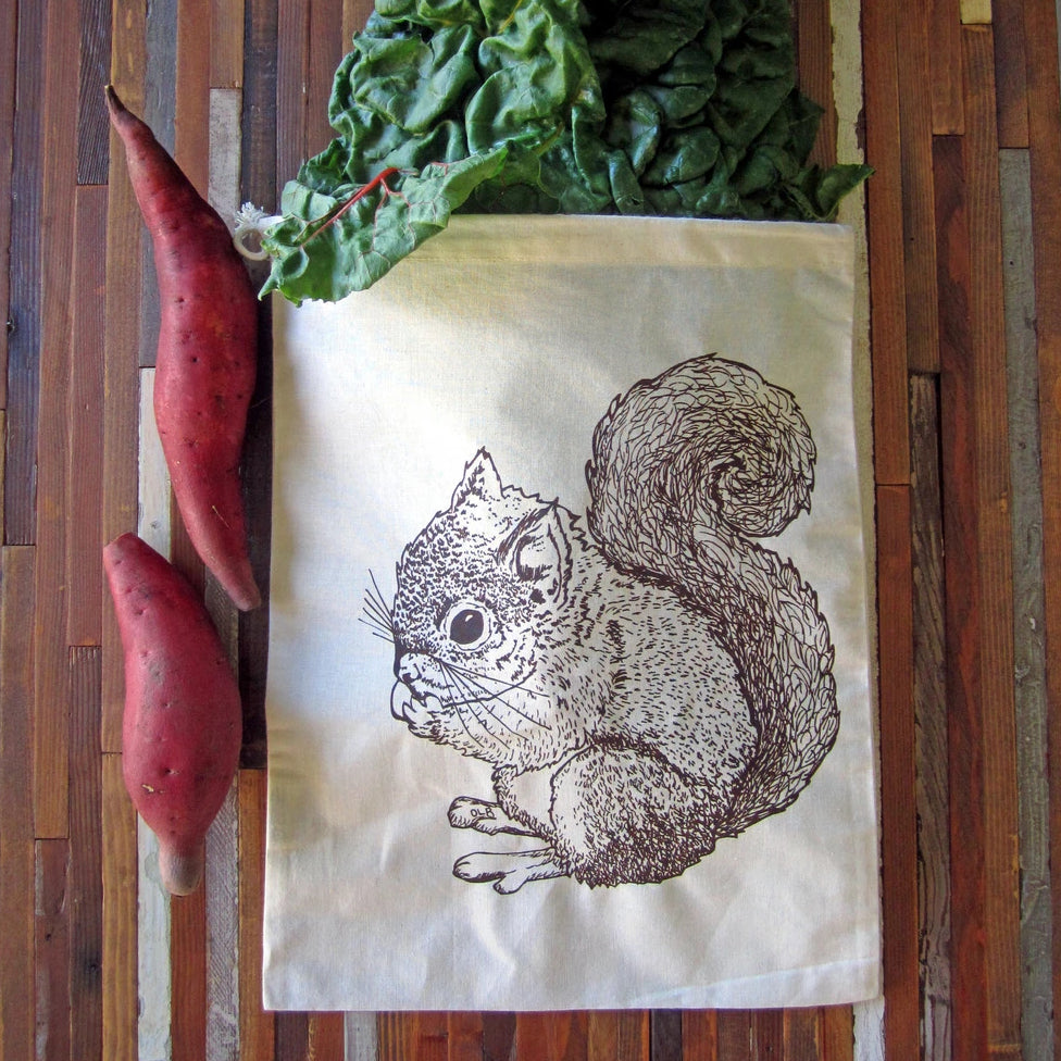 Oh, Little Rabbit - Squirrel Produce Bag