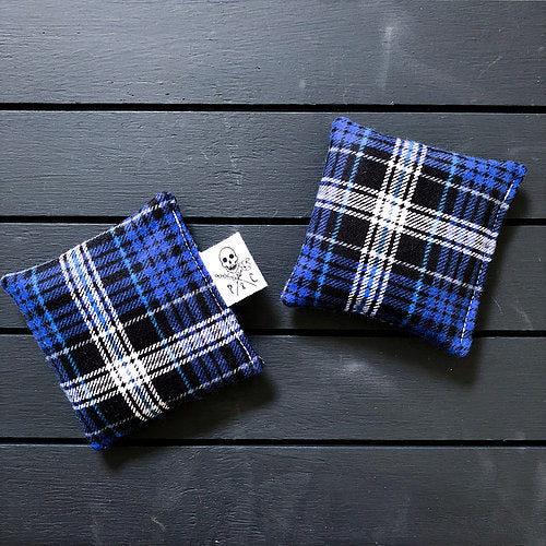 Payne & Comfort - Blue Plaid Wicked Warmers