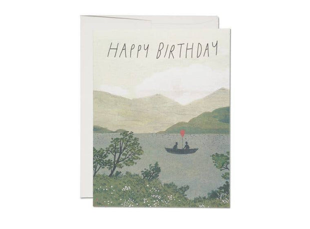 Red Cap Cards - Canoe