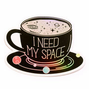 Holographic Space Sticker