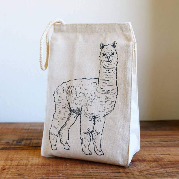 Oh, Little Rabbit - Alpaca Lunch Bag