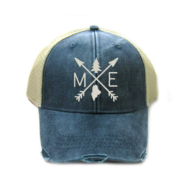 Gracie Designs - Arrows - Maine Trucker Hat