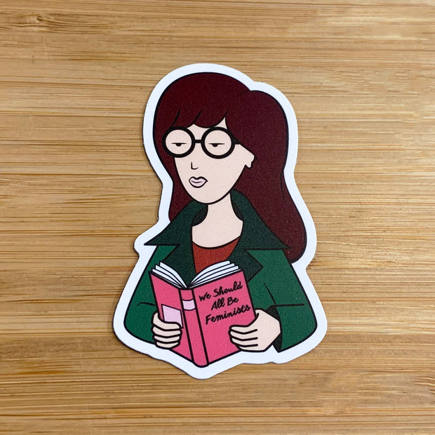 Citizen Ruth - Daria Feminist Sticker