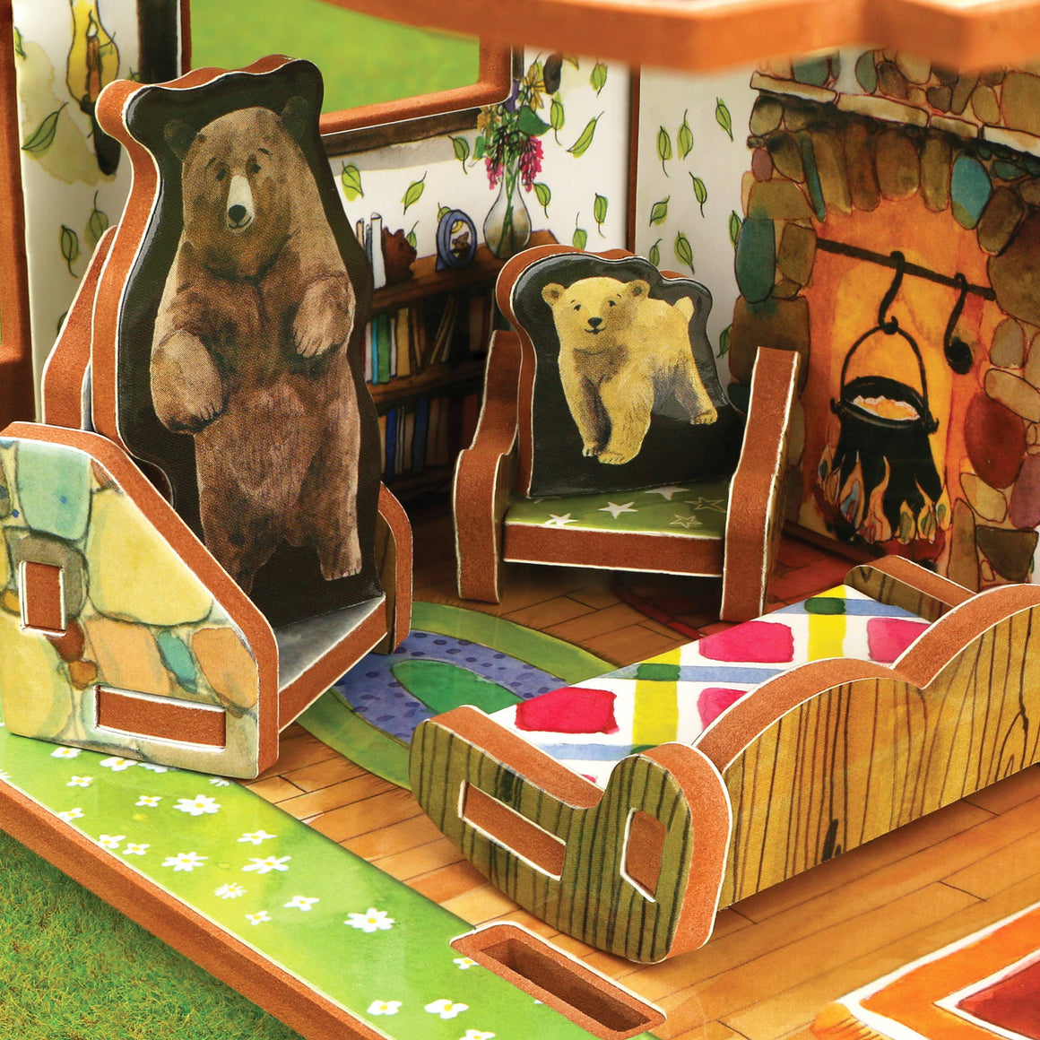 Storytime Toys - Goldilocks and the Three Bears Book and Play Set