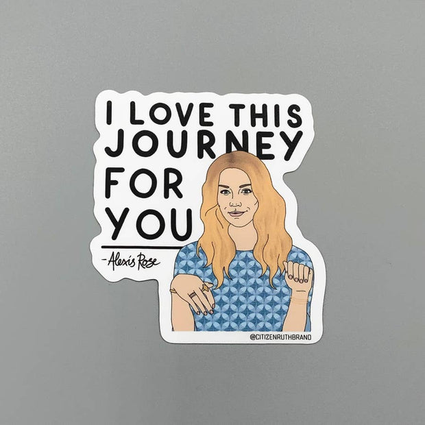 Citizen Ruth - Alexis Schitt's Creek Sticker
