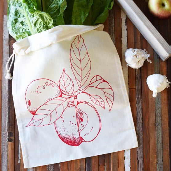 Oh, Little Rabbit - Apple Produce Bag