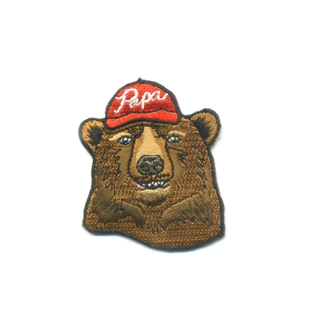Antiquaria - Papa Bear Embroidered Patch