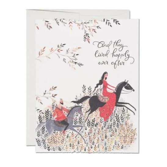 Red Cap Cards - Happily Ever After