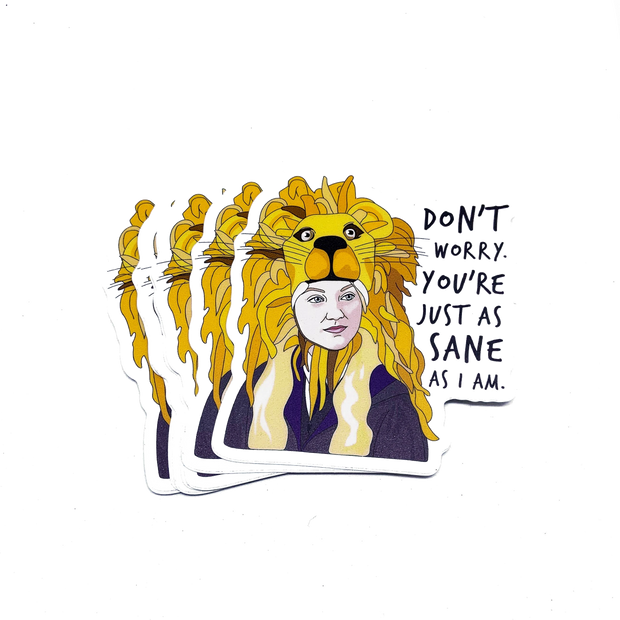 Citizen Ruth - Luna Lovegood Sticker