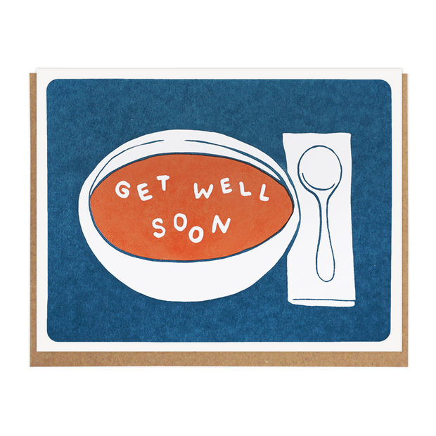 Get Well Soon Soup Card