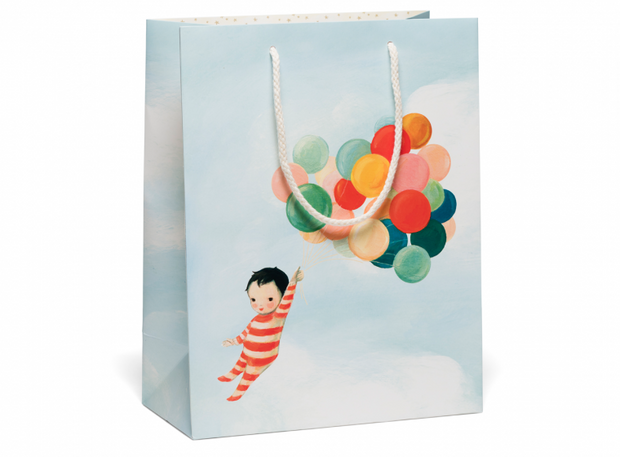 Red Cap Cards - Baby Gift Bags