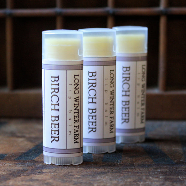 Birch Beer Lip Balm